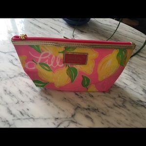 NEW Lilly Pulitzer Estée Lauder make up pouch bag